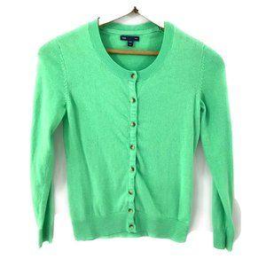 GAP Womens Sea foam Green Cardigan Sweater, M